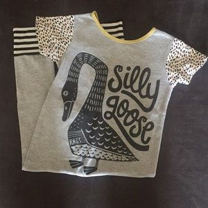 "Rags To Raches ""Silly Goose"" Romper 2T"